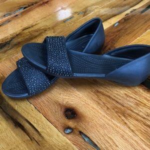 Crocs Lina flats sandal with gems